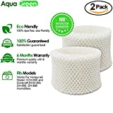 AQUA GREEN Honeywell HC-888, HC-888N Filter C Compatible Humidifier Filter - 2-pack