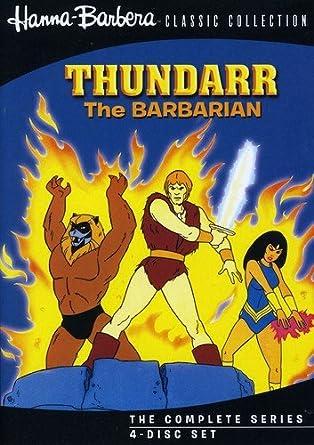 0db1374ca8e Amazon.com  Thundarr The Barbarian (4 Disc)  Bob Ridgely