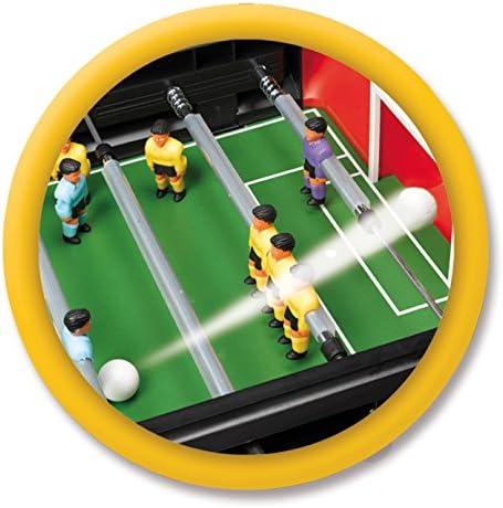 Chicos - Strategic Liga Futbolín Infantil con Jugadores Intercambiables y Marcador de Goles, a Partir de 3 años, Color Rojo con Negro, Medidas: 79 cm x 66 cm x 68 cm: Amazon.es: Juguetes y juegos