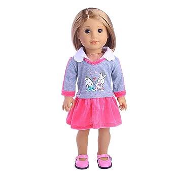 Babypuppen & Zubehör 1 Puppen Bekleidungs Set mit Zubehör kleine süße Fussball Prinzessin Baby Born