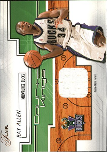 2002-03 Flair Court Kings Game Used #CKRA Ray Allen Jersey