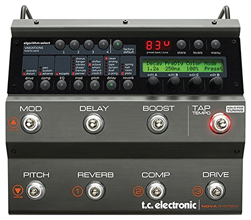 TC Electronic Nova System Floor Based Analog Overdrive/Distortion with G-System Effects and Dynamics Processing (Certified - Nova System Tc Electronic
