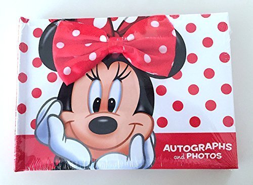 Disney Minnie Mouse Pictures (Disney Parks Minnie Mouse Autograph and Photo Book NEW)