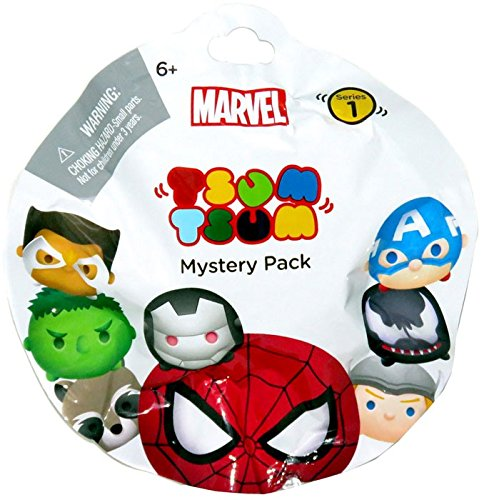 Marvel Tsum Tsum Stack Pack Blind Bags Collectible Figures L