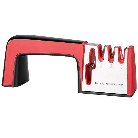 Afilador de cuchillos de cocina - Afilador manual de ...