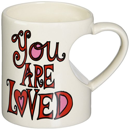 Enesco Our Name is Mud Mug by Lorrie Veasey, You are Loved Heart]()
