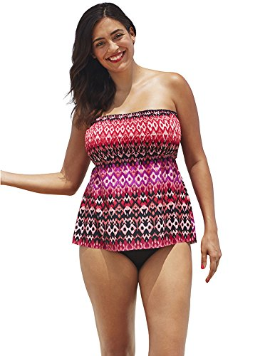 Shore Club Women's Maraschino Smocked Top 16 - Top Tube Smocked