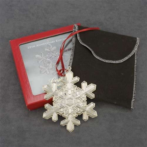 1994 Snowflake Sterling Ornament by (Gorham Snowflake Ornament)