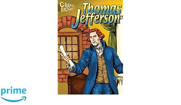 Thomas Jefferson, Graphic Biography (Saddleback Graphic Biographies)