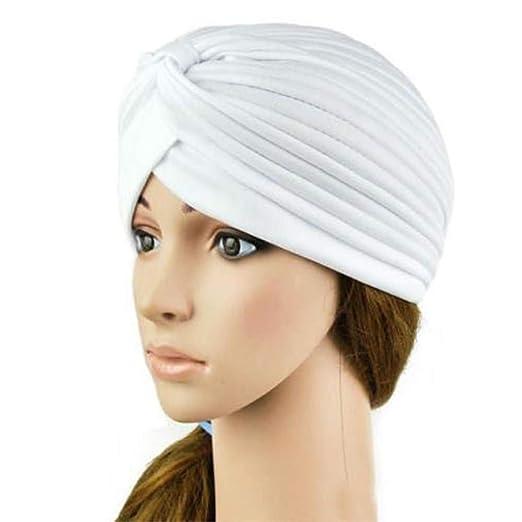 Ogquaton Sombrero de Yoga Gorro de pañuelo elástico ...