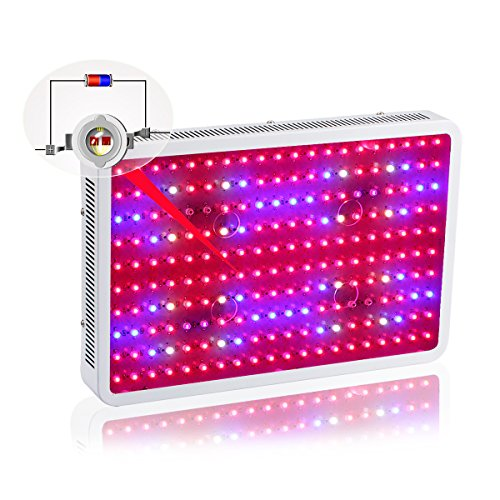 Led Grow Light, 2000W Double Chips Full Spectrum Led Light Grow with UV/IR for Greenhouse Plant Veg and Flower Gianor by Gianor