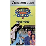 America in the '40s: A Sentimental Journey [VHS]