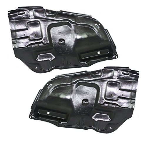 For 05-10 Avalon Front Engine Splash Shield Under Cover Guard Left & Right PAIR Aftermarket Auto Parts