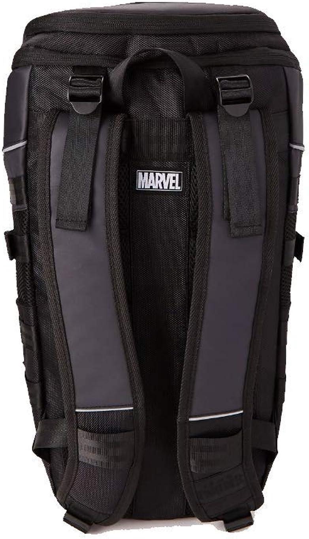 Marvel Back to School Bookbags Black Panther Built Up Backpack