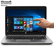 HP EliteBook 840 G1 14in HD+ Touchscreen Business Laptop Computer, Intel Dual Core i5-4200U up to 2.6GHz, 8GB RAM, 256GB SSD, USB 3.0, VGA, WiFi, RJ45, Windows 10 Professional (Renewed)