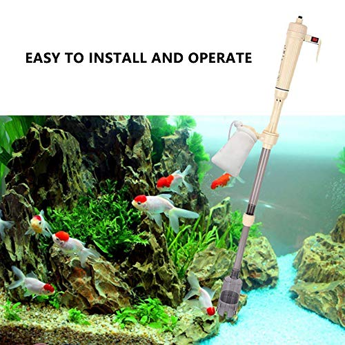 bedee - Limpiador eléctrico para Acuario, depósito para Peces, para acuarios, Algas, Grava y Suciedad: Amazon.es: Productos para mascotas