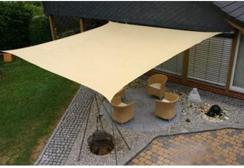 Modern Home Sail Shade Square 16.5' Sides