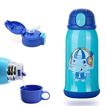 SLOSH Botella Termica Niños Infantil Agua Acero Inoxidable ...