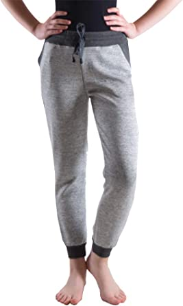Dinamit Jeans Girls Boys Jogger Pants Made with Bonded Fabric for Extra Softness and Stretch