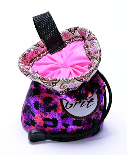 Little Kid Sized Sweet Leopard Chalk Bag for 3 8 Year Olds (Usa Made) By Pure Grit
