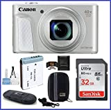 Cheap Canon PowerShot SX730 HS Digital Camera (Silver) Bundle; Includes: 32GB SDHC Class 10 Memory Card + Spare Battery + Camera Case and more …