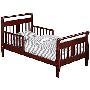 Amazon.com: Baby Relax Sleigh Toddler Bed , Cherry Finish ...