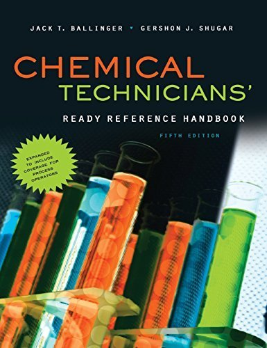 (Chemical Technicians' Ready Reference Handbook, 5th Edition by Jack Ballinger (2011-07-15))