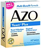 AZO Yeast Plus tablets, 60 Tablets