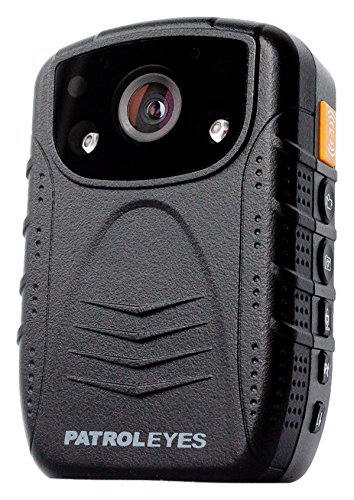 PatrolEyes HD 1080P Infrared Night Vision Police Body Camera Security IR Cam with 16GB Built in Memory