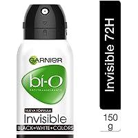 Garnier Bi-O Spray Invisible Black para Mujer, 150 ml