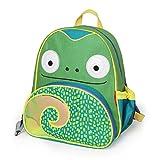 """Toddler Backpack, 12"""" Chameleon School Bag, Multi"""