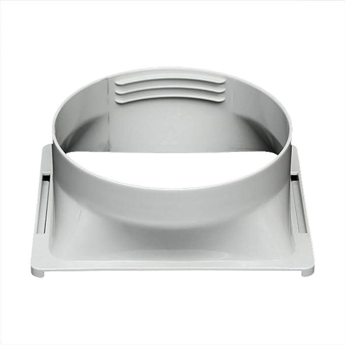 Zyj stores Manguera de Escape Agotar la Manguera de conexión for portátil de Escape de Aire Acondicionado de Escape Manguera Conector del Tubo de Interfaz Cuadrado Plano Boca Universal (tamaño : A):