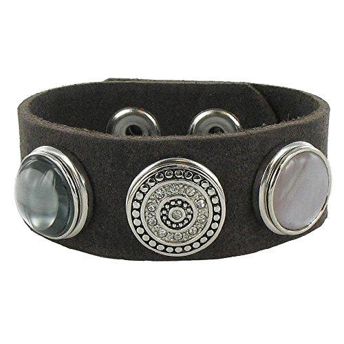 Quiges, Eligo Bijoux 18mm Horoscope Balance bouton-pression pour Quiges, Eligo 18mm accrochage Bracelets Button