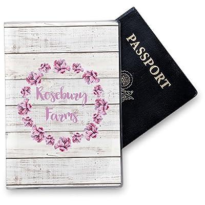 Peace Sign Vinyl Passport Holder Personalized