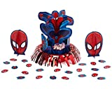 Amscan Spider-Man Table Decorations, Party Supplies