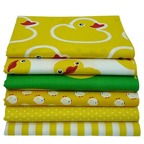 Yellow Cotton Duck - 6pcs 15.7