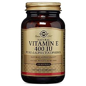 Solgar Vitamin E 400 IU Alpha, 100 Softgels