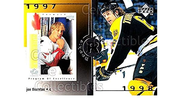 Joe Thornton Hockey Card 1996-97 Upper Deck #370 Joe Thornton