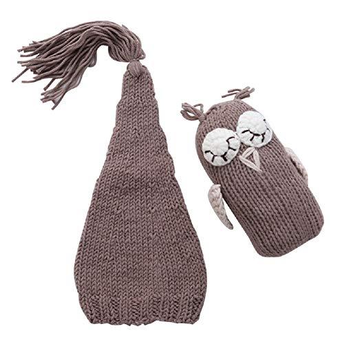 Newborn Baby Girl/Boy Crochet Knit Costume Photography Prop