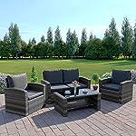 Algarve Rattan Garden Furniture Sofa Set
