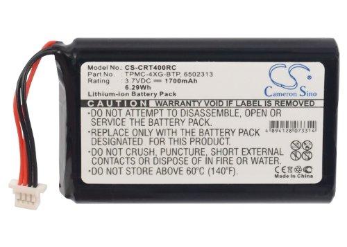 A0356 TPMC-4XG 1700mAh TPMC-4XG-BTP Battery for Crestron TPMC-4XG Touchpanel