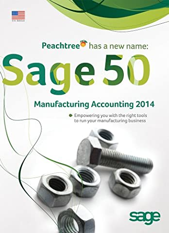 Sage 50 Premium Accounting for Manufacturing 2014 US Edition 3-user (Office Small Business Premium)