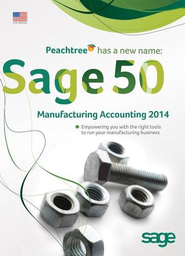 Sage 50 Manufacturing Accounting 2014 - 3 User Retail Box