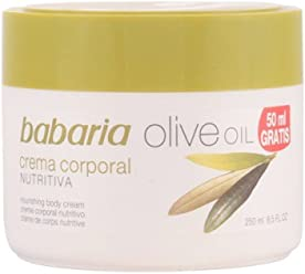 Babaria Moisturizing Olive Oil Body Cream 250ml