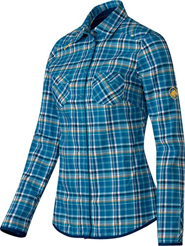 Mammut Ascona Shirt Women dark cyan-malt