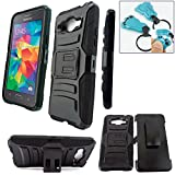 Customerfirst - Samsung Galaxy Grand Prime Case, Armor Series - Heavy Duty Dual