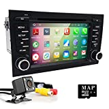 HIZPO fit for Audi A4 S4 RS4 In Dash Android 5.1 OS Quad Core CPU Car DVD Radio Player with 7inch HD Touchscreen GPS Navigation Bluetooth RDS Wifi TV OBD DAB+ Canbus System Reverse Camera