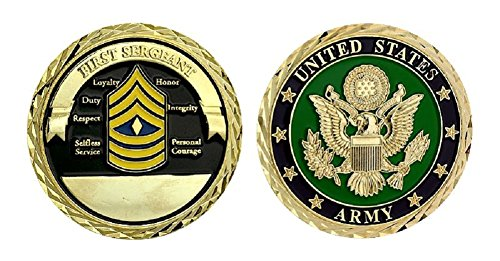 Army First Sergeant Challenge Coin ()