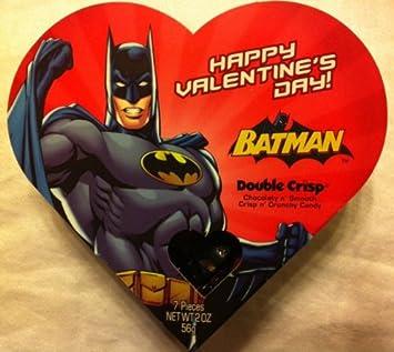 Amazon Com Batman Chocolate Candy Valentine Gift Box Varied