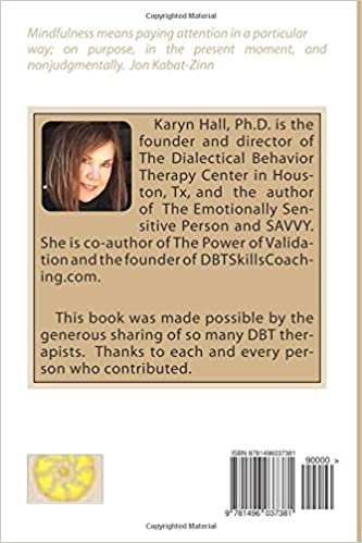 Mindfulness Exercises For DBT Therapists: Karyn Hall Ph.D ...